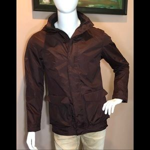 Men's lightweight water resistant jacket, small